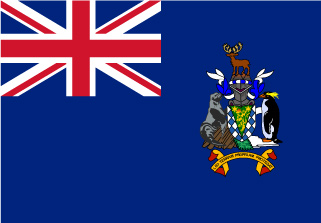 Bandera de Islas Georgias del Sur y Sandwich del Sur