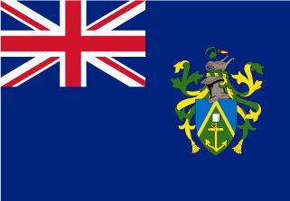 Bandera de Islas Pitcairn