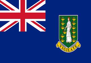 Bandera de Islas Vírgenes Británicas