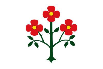 Bandera de La Floresta (Lérida)