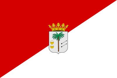 Bandera de La Palma del Condado