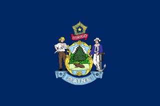 Bandera de Maine