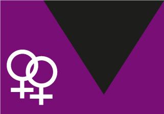 Bandera de Movimiento Lésbico