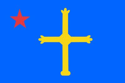 Bandera de Nacionalismo asturiano