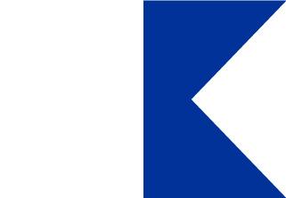 Bandera de Náutica Alfa