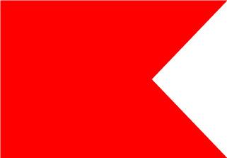 Bandera de Náutica Bravo
