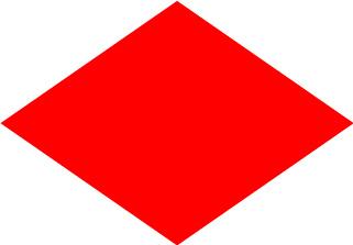 Bandera de Náutica Foxtrot
