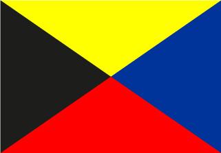 Bandera de Náutica Zulú