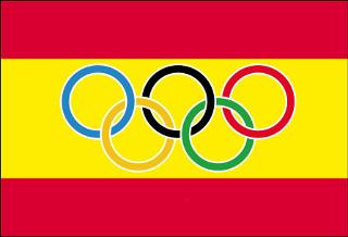 Bandera de España Olimpica