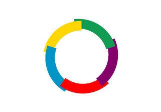 Bandera de Organización Internacional de la Francofonía