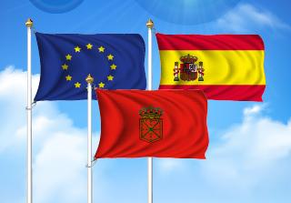Bandera de Pack Navarra  (Unión Europea, España y Navarra)