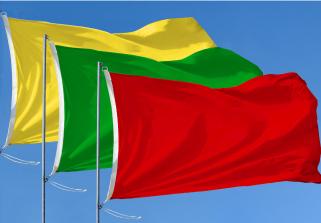 Bandera de Paquete 3 Banderas de Playa