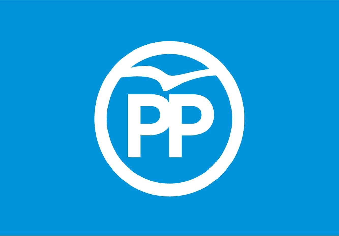 Bandera de Partido Popular PP Logo