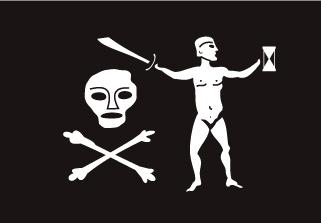 Bandera de Pirata Captain Dulaien
