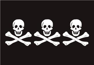 Bandera de Pirata Christopher Condent