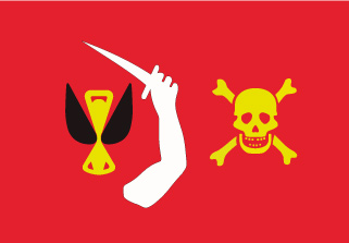 Bandera de Pirata Christopher Moody
