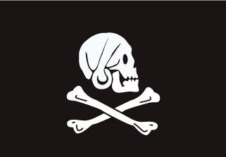 Bandera de Pirata Henry Every