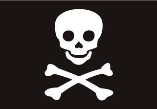 Bandera de Pirata Jolly Roger