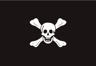 Bandera de Pirata Richard Worley
