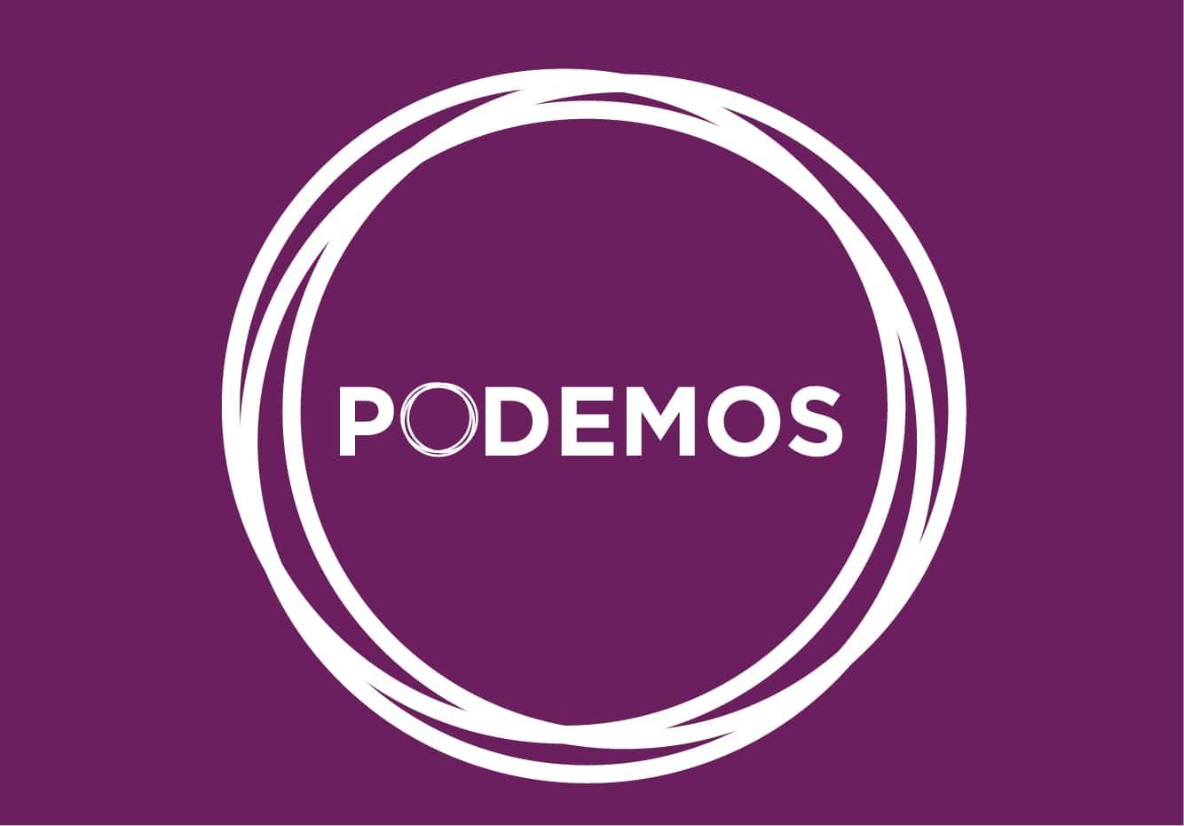 Bandera de Podemos
