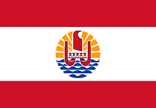Bandera de Polinesia
