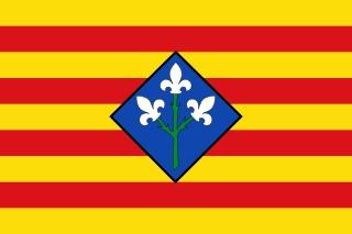 Bandera de Provincia de Lérida