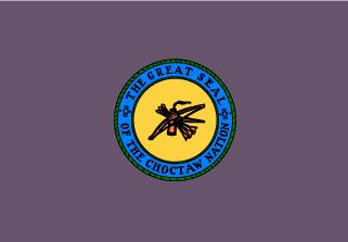Bandera de Pueblo Choctaw
