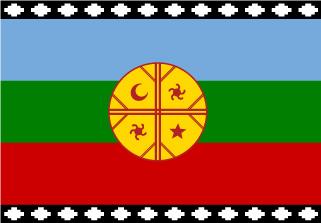 Bandera de Pueblo Mapuche