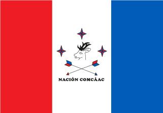 Bandera de Pueblo Seri
