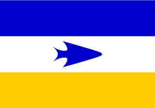 Bandera de Pueblo Tehuelche