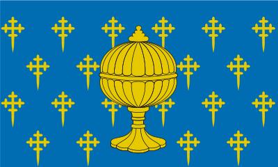 Bandera de Reino de Galicia