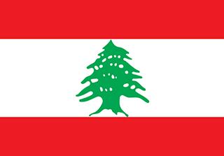 Bandera de República Libanesa