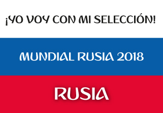Bandera de Rusia Mundial 2018