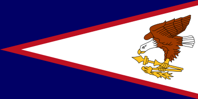 Bandera de Samoa Americana