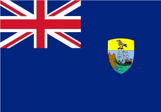 Bandera de Santa Helena