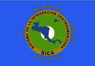 Bandera de Sistema de la Integración Centroamericana