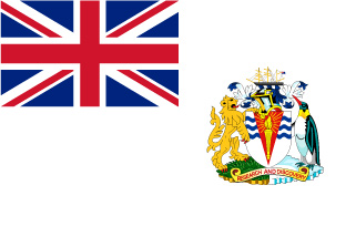 Bandera de Territorio Antártico Británico