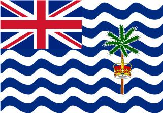 Bandera de Territorio Británico Oceáno Índico