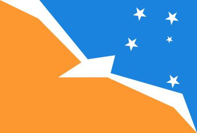 Bandera de Tierra del Fuego, Antártida e Islas del Atlántico Sur
