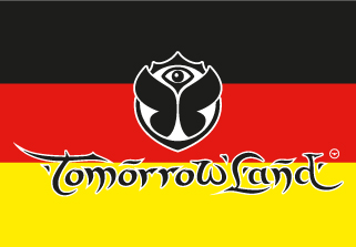Bandera de Tomorrowland Alemania