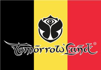 Bandera de Tomorrowland Bélgica