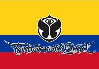 Bandera de Tomorrowland Colombia