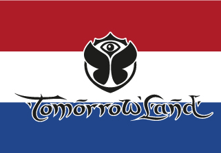 Bandera de Tomorrowland Holanda