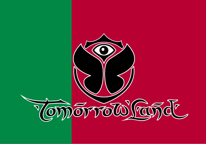 Bandera de Tomorrowland Portugal
