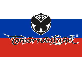 Bandera de Tomorrowland Rusia