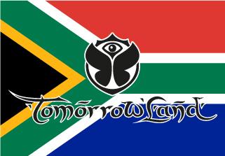 Bandera de Tomorrowland Sudáfrica