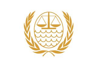 Bandera de Tribunal Internacional del Derecho del Mar