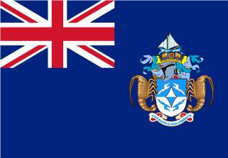 Bandera de Tristán de Cunha