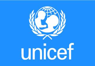 Bandera de UNICEF Fondo Azul