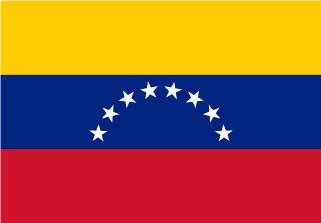 Bandera de Venezuela sin escudo